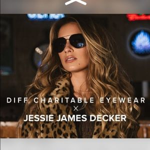 DIFF x Jessie James Decker sunglasses 🕶